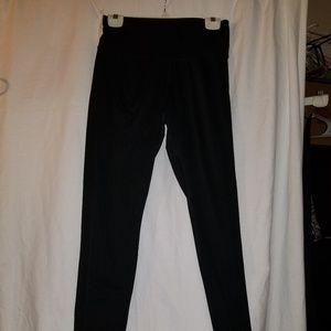 Champion High Rise Black Athletic Pants L NWOT